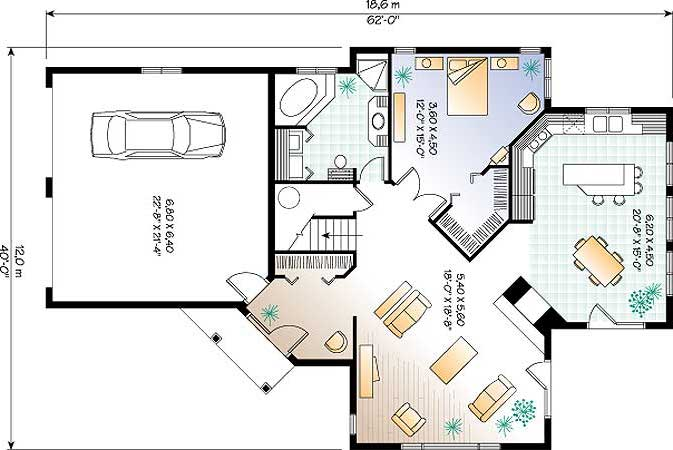 CAR DOUBLE GARAGE PLAN | Over 5000 House Plans